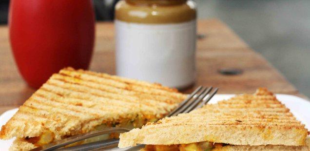 City Food - Tasty Toast, Triveni Tea Terrace