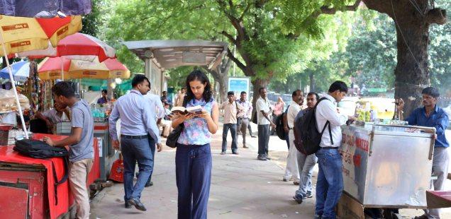 Delhi Metro - Manika Dhama's Commute With Rebecca West, KG Marg