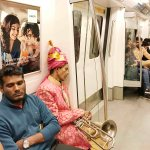 City Moment - The Overworked Music Men of the Yellow Line, Rajiv Chowk Metro Station