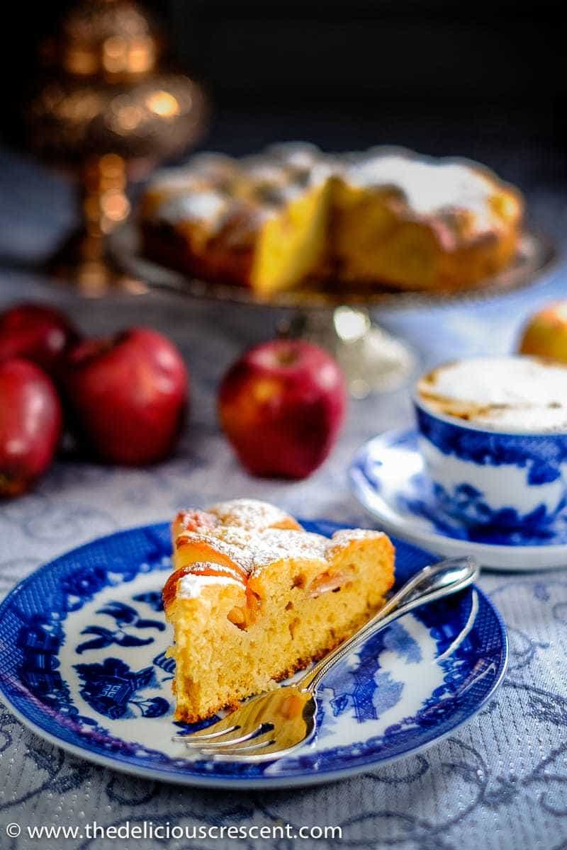 Light and Delicious German Apple Cake