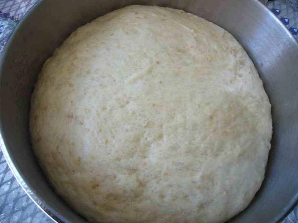 Zaatar and Parmesan Cheese Bread Rolls Prep
