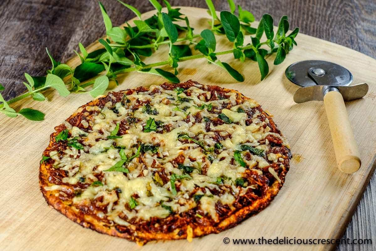 Low Carb French Onion Pizza