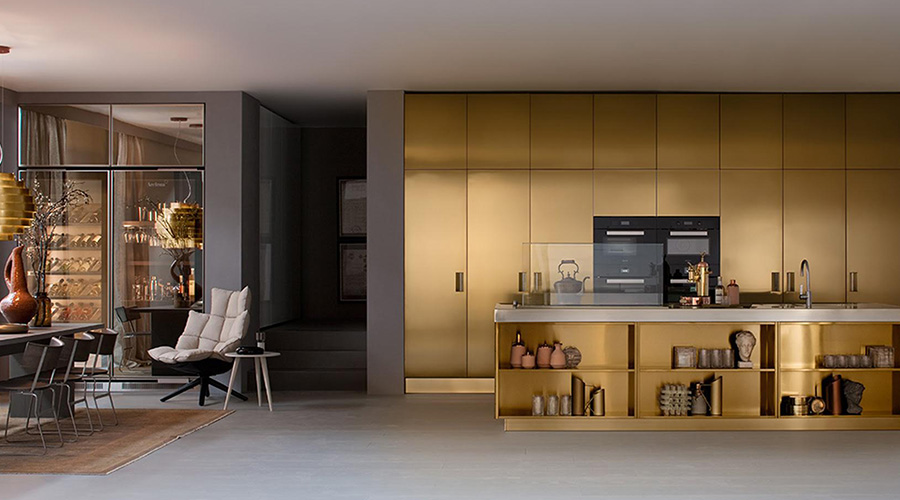 Arclinea Kitchens Present STEELIA The Denizen