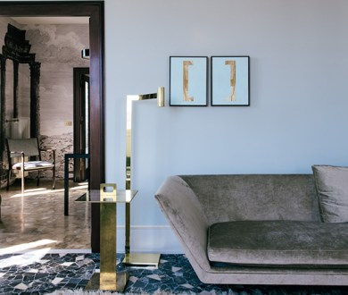 This stunning Rome apartment is classical, mid-century perfection