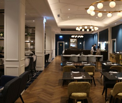 Cooke's Restaurant & Bar is a sophisticated new Queen Street eatery