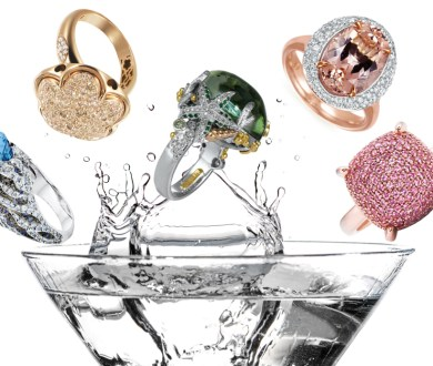 Attract some attention with these jaw-dropping cocktail rings