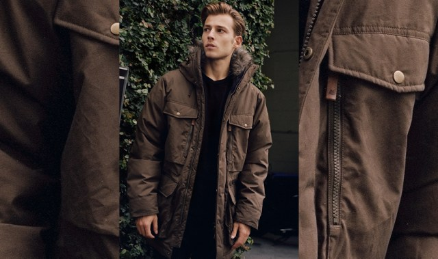 This exclusive outerwear is set to be our new cold weather go-to