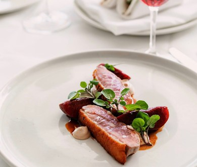 If you haven't yet celebrated duck season, this special menu is your calling card