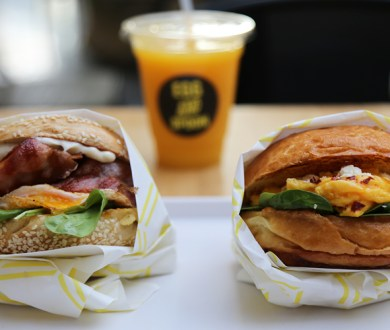 This new egg-focused eatery is taking on-the-go brunching to a whole new level