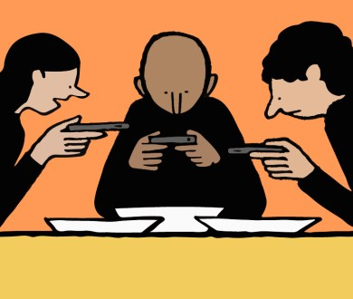 A step-by-step guide on how to refrain from Instagramming your dinner