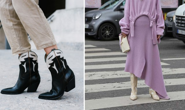 From platform soles to cowboy boots — how to get on board with the retro shoe redux