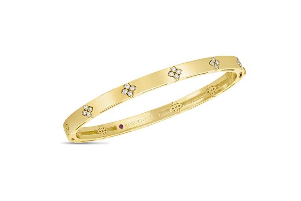Love in Verona gold bangle