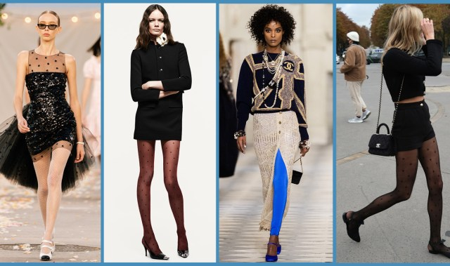Here's why a good pair of tights will be your wardrobe's secret weapon
