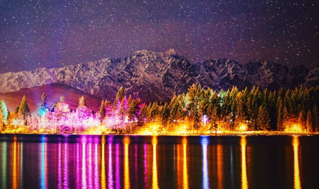 The enchanting Luma festival is back, transforming Queenstown into a magical wonderland