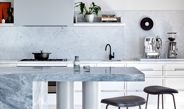 Looking for kitchen inspiration? This striking family home offers a stylish lesson in seamlessly integrated appliances