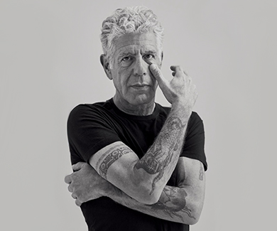 Today is officially Bourdain Day. We remember the inimitable chef with his most inspiring words of wisdom