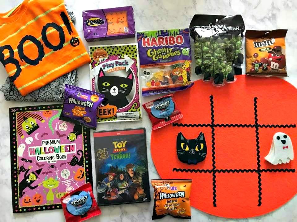 Halloween Tradition: Bucket with Pajamas, DVD, and snacks