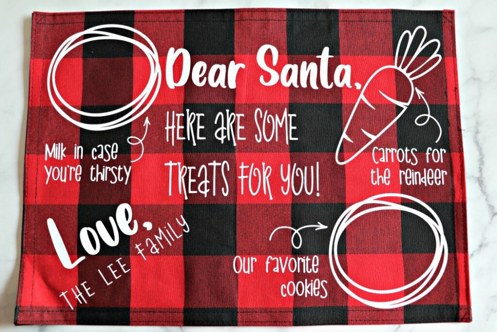 Download Santa Cookies Tray - FREE SVG - The Denver Housewife
