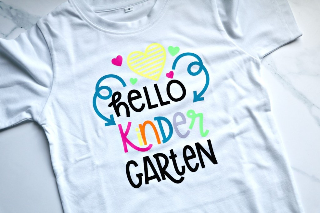 Hello Kindergarten Shirt