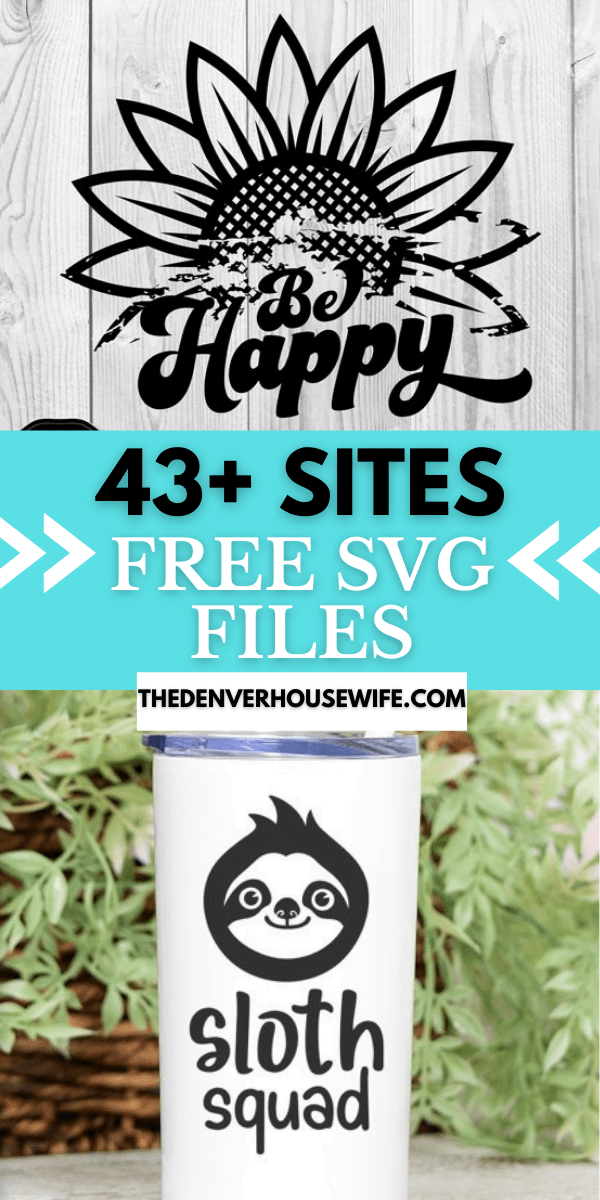 Easy diy halloween home decor for only $3 to make! Where To Find Free Svg Files The Denver Housewife
