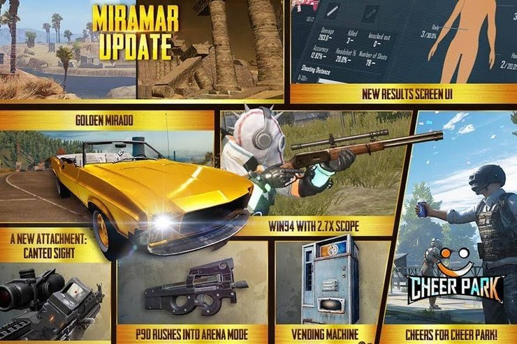 PUBG MOBILE New Updates goes live, brings more Fun for the gamers