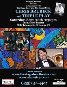 Southern Utah Live Music and Entertainment Chris Brubeck and Triple Play