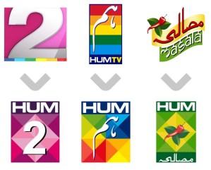 Hum Network New Logos Line-up