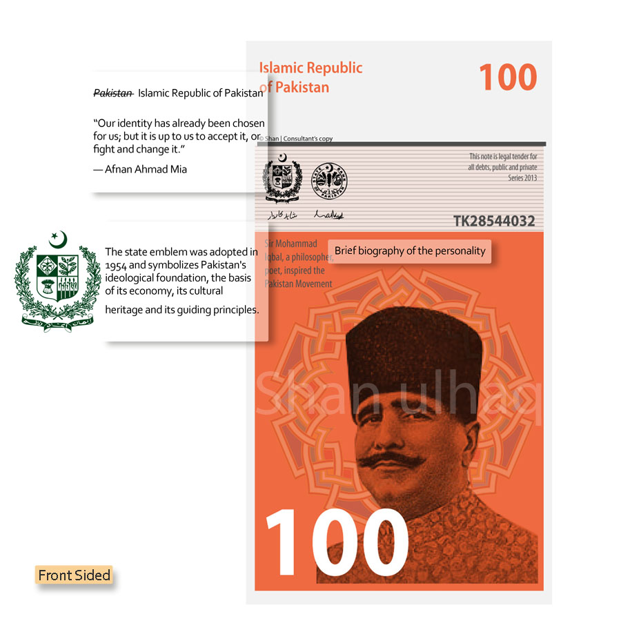 New Design Of Pakistani Currency Notes