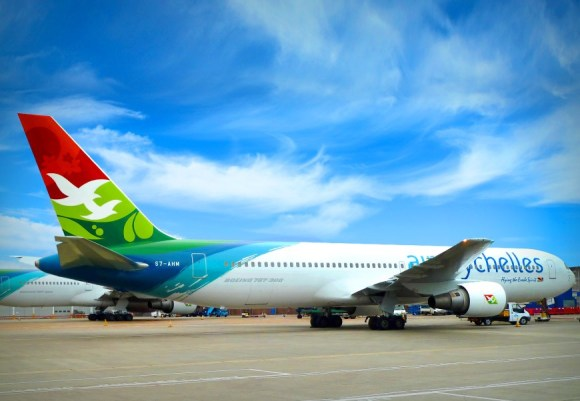 Air seychelles livery