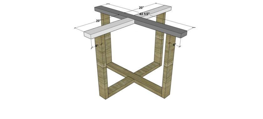 You Can Build This! Easy DIY Plans from The Design Confidential Free DIY Furniture Plans // How to Build a Round Slab Dining Table via @thedesconf