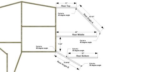 Step 5 for The Design Confidential Free DIY Furniture Plans // How to Build a Polar Bear Bookshelf