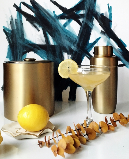 The Design Confidential x Bernzomatic | Damrells Fire Cocktail Recipe using Blow Torch