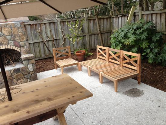 Great Reader Showcase DIY Chesapeake Hampstead Outdoor Sectional
