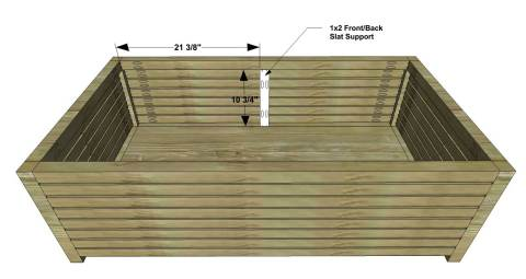 You Can Build This! The Design Confidential DIY Furniture Plans // How to Build an Outdoor Slatted Coffee Table