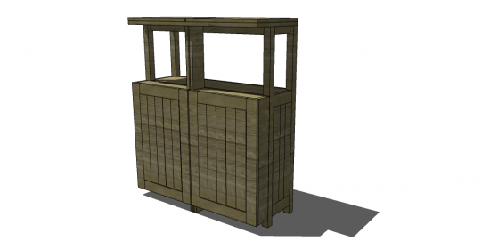a stunning piece to add to our chesapeake collection this outdoor bar is sure to be the talk of your next backyard party