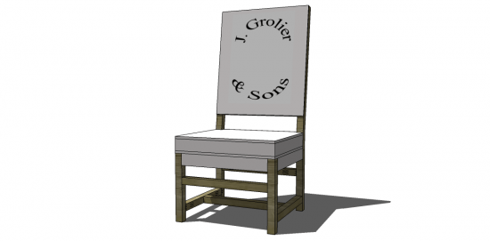 You Can Build This! Easy DIY Furniture Plans from The Design Confidential with Complete Instructions on How to Build a Baroque Chair via @thedesconf