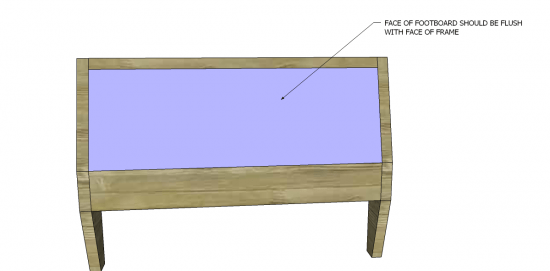 You Can Build This! Easy DIY Plans from The Design Confidential with Complete Instructions on How to Build a Twin Sized Blake Bed via @thedesconf