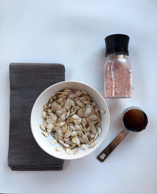 The Design Confidential DIY // Easy Carve Confetti Pumpkin + Salt and Vinegar Pumpkin Seeds Recipe