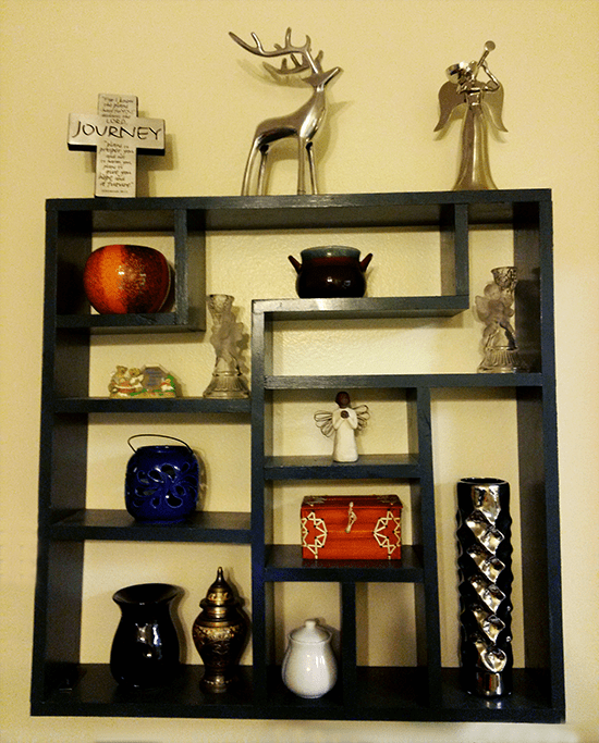 Reader Showcase: Alcove Shelf