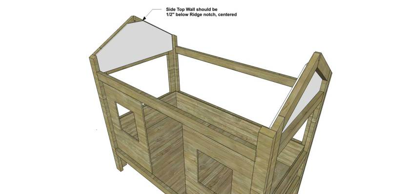 You Can Build This! Easy DIY Furniture Plans from The Design Confidential with Complete Instructions on How to Build a Twin Sized Cabin Loft Bed via @thedesconf