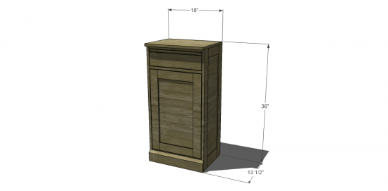 Free Diy Furniture Plans To Build Pottery Barn Inspired