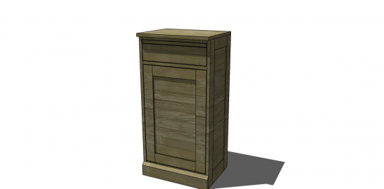 Free DIY Furniture Plans To Build Pottery Barn Inspired Modular Bar  Components U2013 Cabinet Base
