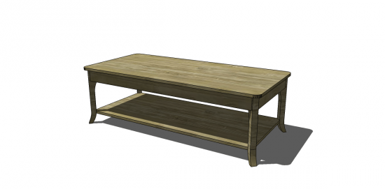 Free DIY Furniture Plans To Build A Chloe Coffee Table, By Special Reader  Request! If You Have A Request For A Special Set Of Plans, Please Feel Free  To ...