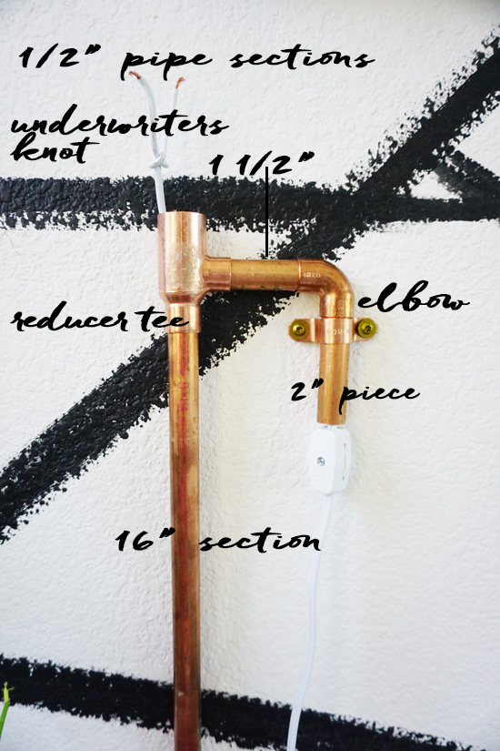 The Design Confidential Celebrates The Art of Patrón to Find Your Inner Light with a DIY Copper + Handmade Glass Sconce