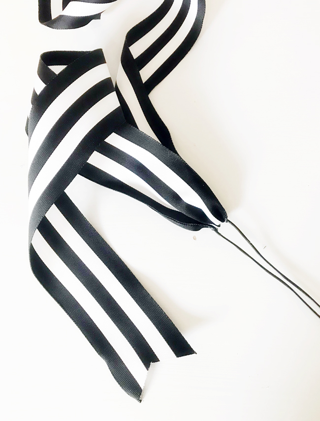 The Design Confidential x Michaels Makers DIY Ribbon Pick Ornament