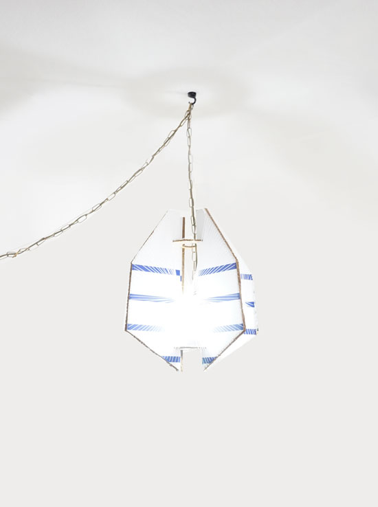 The Design Confidential DIY // String Pendant Light Fixture