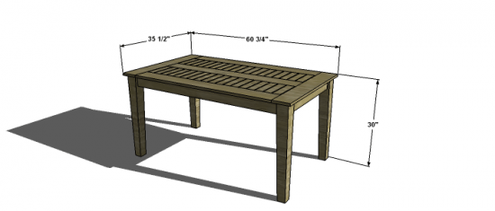 Dining Table For 20 Dimensions: Free Woodworking Plans To Build A PotteryBarn Inspired