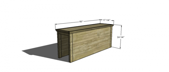 You Can Build This! Easy DIY Plans from The Design Confidential Free DIY Furniture Plans // How to Build A Stuff Your Stuff Storage Full Sized Headboard Base via @thedesconf