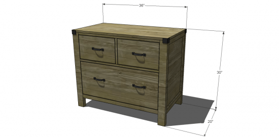Free Diy Furniture Plans To Build A, Wood File Cabinet Plans Free
