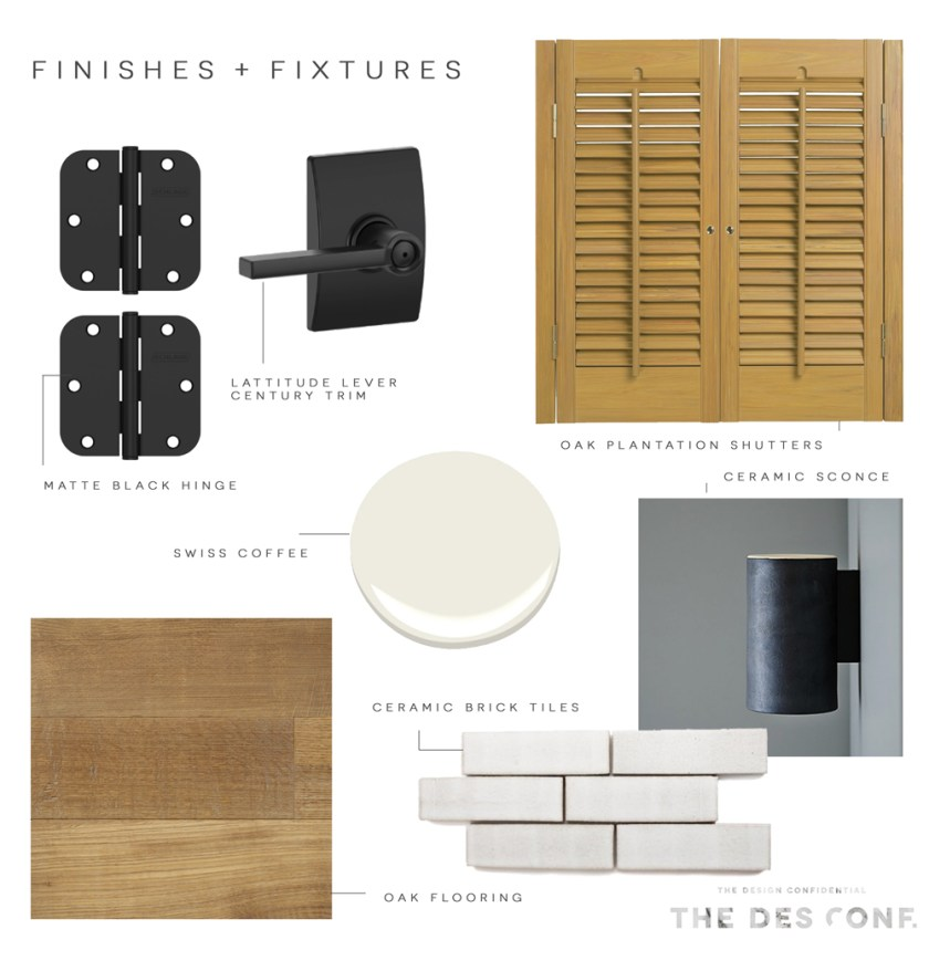 The Design Confidential x Schlage Finishes and Fixtures via @thedesconf